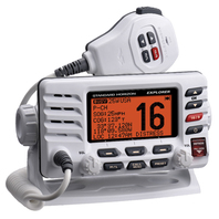 EXPLORER ULTRA COMPACT 25 WATT DSC RADIO-Explorer Ultra Compact VHF Radio, White