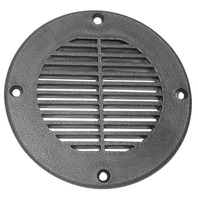 "FD4-DP TH Marine 4"" Floor Drain, Black"