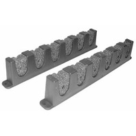 ROD STORAGE HOLDER-Foam Rod Holder Pair