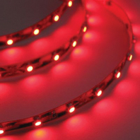 "LED FLEX STRIP ROPE LIGHT, ADHESIVE BACKED-LED Rope Light, 24"", Red"