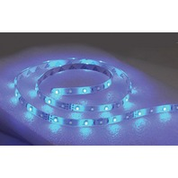"LED FLEX STRIP ROPE LIGHT, ADHESIVE BACKED-LED Rope Light, 48"", Blue"