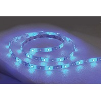"LED FLEX STRIP ROPE LIGHT, ADHESIVE BACKED-LED Rope Light, 72"", Blue"