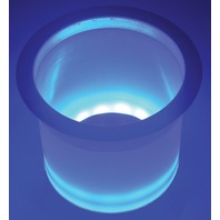 T-H MARINE LED-LCH-BU-DP LED LIGHTED CUP HOLDER-Blue