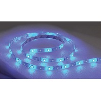 LED FLEX STRIP ROPE LIGHTS, NON-ADHESIVE-LED Rope Light, 16' Blue