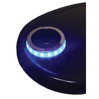 LED-SMCHR-B-DP Blue LED Cup Holder ACCENT RING