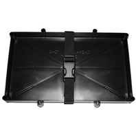 "SPACE SAVER BATTERY TRAY-27 Series, 12-1/2"" x 7"" Inside, 8-1/2"" Outside Width"
