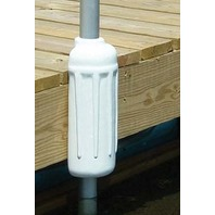 "DOCK POST BUMPER-7"" x 17"", White"