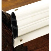 "DOCK-PRO  MEDIUM EDGE GUARD, 3-1/2""-10' Coil Length, 3-1/2""H x 1-1/2""D, White"