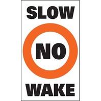 SUR-MARK BUOY LABELS-Slow No Wake
