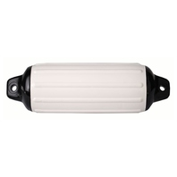 "SUPER GARD BOAT FENDER-White, 10-1/2"" x 30"""
