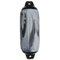 "SUPER GARD SWIRL FENDER-Black Swirl, 5-1/2"" x 20"""