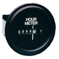 "ECLIPSE SERIES GAUGE-2-1/8"" dia. Hourmeter, Round"