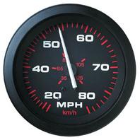 """AMEGA  SIGNATURE SERIES GAUGE-3"""" Speedometer Kit, 20-80 MPH"""