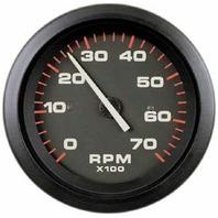 "AMEGA  SIGNATURE SERIES GAUGE-3"" Tachometer, 7k rpm O/B Alt & 4-Cycle Gas"