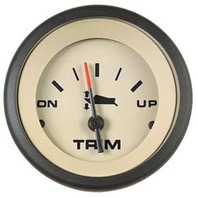 "SAHARA  SIGNATURE SERIES GAUGE-2"" Trim Gauge, Mariner/Mercury, Volvo DP/SX, Yamaha 2001 & up"