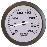 "DRIFTWOOD  SIGNATURE SERIES GAUGE-3"" Tachometer,7k, O/B Alt & 4-Cycle Gas"