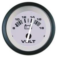 "DRIFTWOOD  SIGNATURE SERIES GAUGE-2"" Voltmeter, 8-18 VDC"