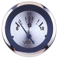 """STERLING OEM SERIES PREMIUM GAUGE-2"""" Voltmeter 8-18V DC"""