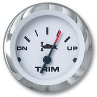 "LIDO SERIES PREMIUM GAUGE-2"" Trim Gauge; Merc., Mariner, Volvo DP/SX, Yamaha 2001 & up"