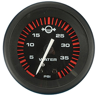 "AMEGA  SIGNATURE SERIES GAUGE-2"" Water Pressure Kit, O/B, 40 psi"