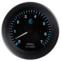 "ECLIPSE SERIES GAUGE-3"" Tachometer, 0-7000 RPM Outboard"