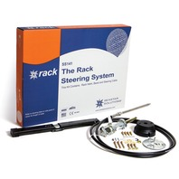SEASTAR SINGLE BACK MOUNT RACK STEERING SYSTEM-9' Rack Package