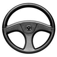 "SW59691B Seastar Marine Ace Steering Wheel, 13-1/2"" Rim"
