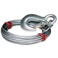 "59385 Tie Down WINCH CABLE-3/16"" x 25', 4200 lb"