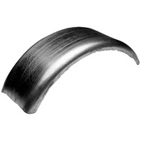 "BOAT TRAILER METAL FENDER-W-8"", L-27.5"", H-11"", Tire Size 13"""