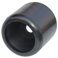 "HULL SAV'R ROLLERS, BLACK RUBBER-4"" Wobble Roller, 3/4"" ID"