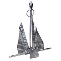 HOOKER QUIK-SET ANCHORS-5HQ; 3.5#; 10-15' Boat Length