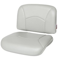 ALL WEATHER HIGH BACK SEAT REPLACEMENT CUSHIONS-Gray
