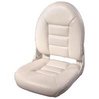 NAVISTYLE  HI-BACK BOAT SEAT-White Vinyl