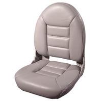 NAVISTYLE  HI-BACK BOAT SEAT-Gray Vinyl
