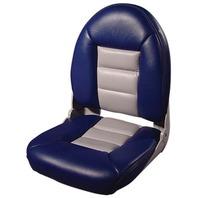 NAVISTYLE  HI-BACK SEATS-Blue/Gray Vinyl