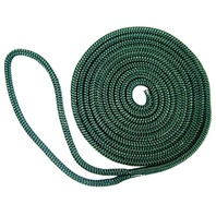 "BRAIDED FENDER LINE-1/4"" x 6' Green (While Qtys Last)"