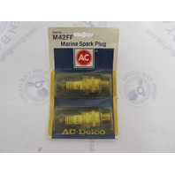 M42FF AC-DELCO GM Marine Engine Spark Plug 2-Pack