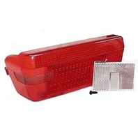 REPLACEMENT WRAP AROUND LEFT TAIL LIGHT LENSES-LH Replacement Lens