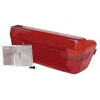 REPLACEMENT WRAP AROUND RIGHT HAND TRAILER TAIL LIGHT LENS ONLY