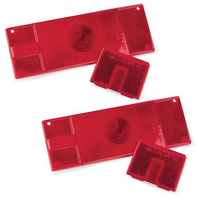 "WATERPROOF ""OVER 80"" LOW PROFILE Tail Lamp Replacement Lens Kit"