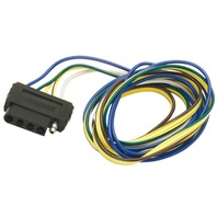 702305 Wesbar VEHICLE SIDE CONNECTORS-5-Way Trunk Connector 4', 4' Ground