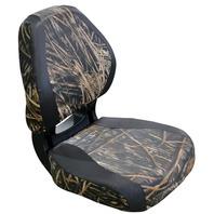 TORSA SCOUT VINYL ERGONOMIC FOLDING SEAT, CAMO-Mossy Oak Shadow grass/Nexus Black