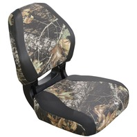 TORSA SCOUT VINYL ERGONOMIC FOLDING SEAT, CAMO-Mossy Oak Breakup/Nexus Black