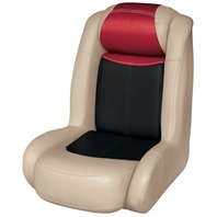 BLAST-OFF TOUR SERIES HIGH BACK BUCKET SEAT -Mushroom/Black/Red