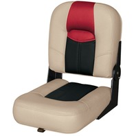 BLAST-OFF TOUR SERIES 14  CENTER BUDDY SEAT -Mushroom/Black/Red