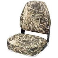 CAMOUFLAGE HIGH BACK FOLD DOWN SEAT-Mossy Oak Max-5 camo