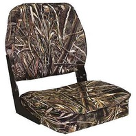 CAMOUFLAGE FOLD DOWN BOAT SEAT-Mossy Oak Max-5 Camo