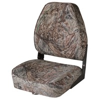 CAMOUFLAGE HIGH BACK FOLD DOWN SEAT-Mossy Oak Duck Blind