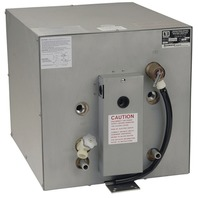 """WHALE WATER HEATER, FRONT EXCHANGER-11 Gal, 100 psi, 16"""" x 22"""" x 16"""", Galvanized"""