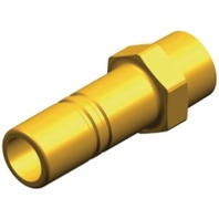 """WHALE QUICK CONNECT PLUMBING SYSTEM FITTINGS-Stem Adaptor 3/8"""" NPT Male (Brass)"""